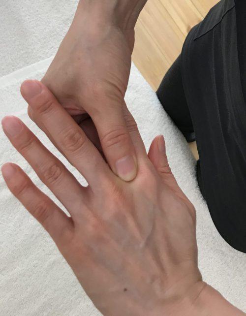 指間穴ツボ