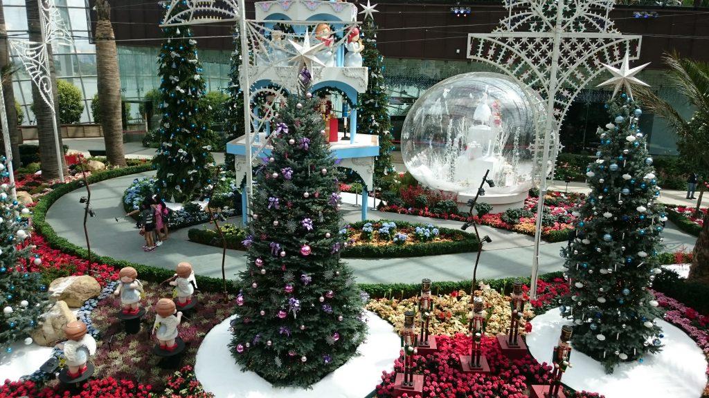 ガーデンバイザベイのクリスマス